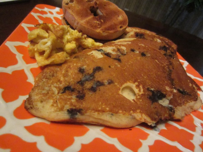Blueberry Oats Pancakes